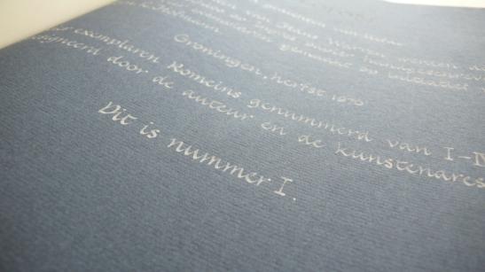 zeven gedichten colofon