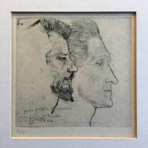 Stefan George en Albert Verwey