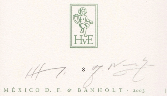 hendrix-handtekening