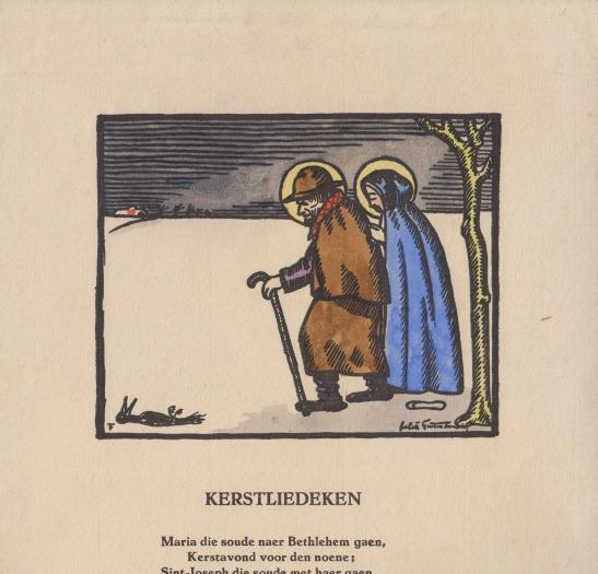 kerstliedeken