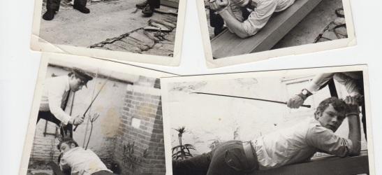 Uitsnede van de vier foto's